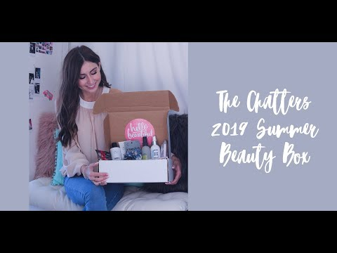 The Chatters 2019 Summer Beauty Box