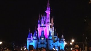 THE KISS GOODNIGHT - Magic Kingdom Closing - Cinderella Castle Goodbye Show