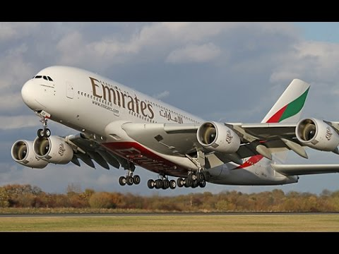 The Best Compilation of Airbus A380 - The world's largest passenger airliner