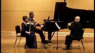 Johannes Brahms, Trio in E-flat Major, 3/4 Adagio mesto