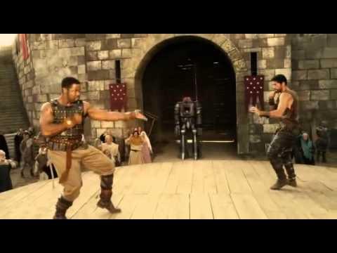 Michael jai White vs Scott Adkins fight scene with sword