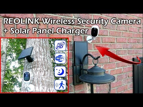Reolink Argus Pro Wireless Security Camera + Solar Panel Charger