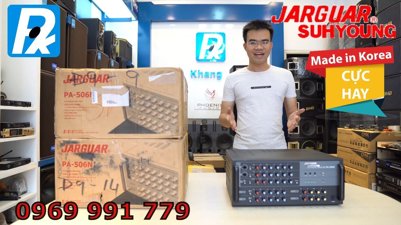 Amply Jarguar 506N mua tại Hàn Quốc lại về giá 9tr5 mới 100% nguyên thùng SDT 0969 991 779
