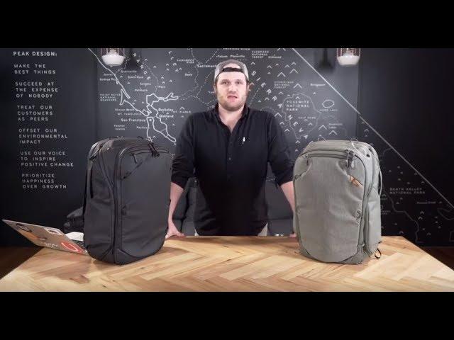 Plecak Travel Line Peak Design Travel Backpack 45L  - Konfiguracja i użytkowanie (wersja PL)
