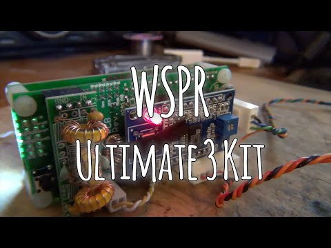 WSPR Ultimate 3 kit for Ham Radio