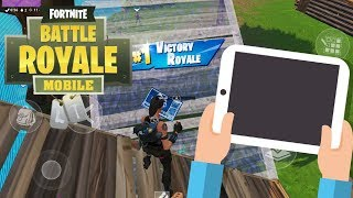 Fortnite Mobile FAST BUILDER / Going Pro in 30 Days ! Day 3/30 Solo Squads ?