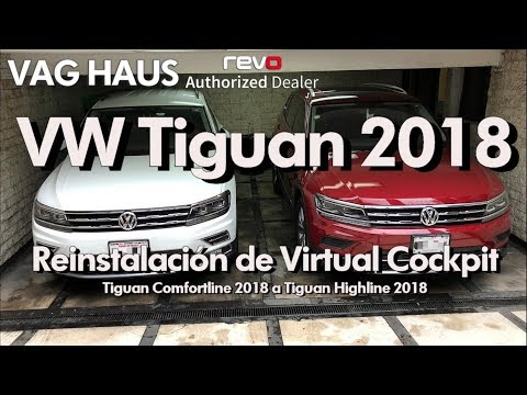 Reinstalación de Virtual Cockpit en Volkswagen Tiguan 2018 | CDMX | VAG Haus