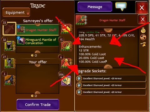 Highest Gold Loot I Have Seen In Arcane Legends