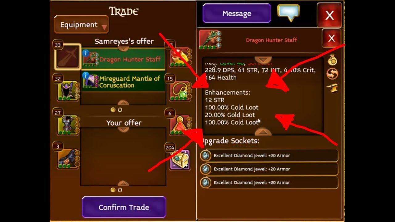 Highest Gold Loot I have seen in Arcane Legends