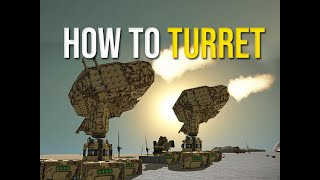 Space Engineers - Over Powered Turret How To Build