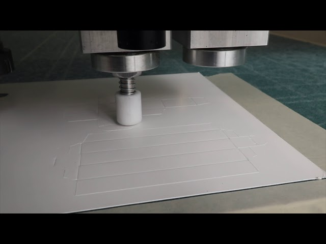 Cardstock Boxes - Coroplast Knife - Creasing Wheel