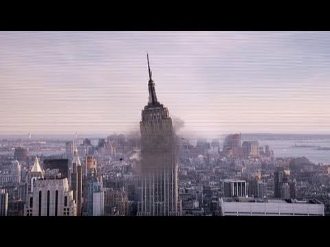Empire State Building Explosion/Collapse (After Effects VFX) - New York
