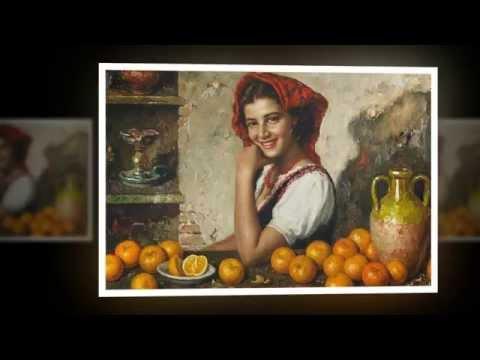 Красивые женщины в живописи