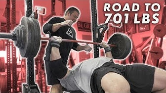 485LB BENCH FOR REPS | ROAD TO 701LBS
