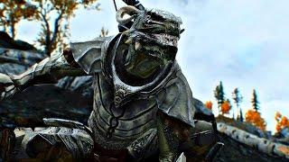 Skyrim mod: Brutish Argonian Male / Брутальная раса Аргониан