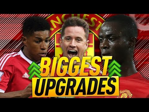 BIGGEST FIFA 18 MANCHESTER UNITED RATINGS UPGRADES!!!