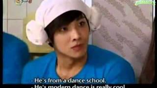 hq eng 2am jokwon mblaq joon infinite sungjong dance hyuna s bubble pop joon s ripped pants