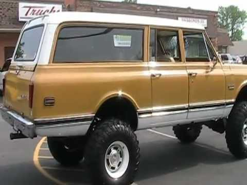 1972 GMC SUBURBAN 2500 3/4 TON 4X4 LIFTED FOR SALE - YouTube
