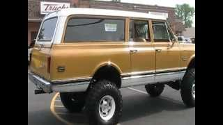 1972 GMC SUBURBAN 2500 3/4 TON 4X4 LIFTED FOR SALE