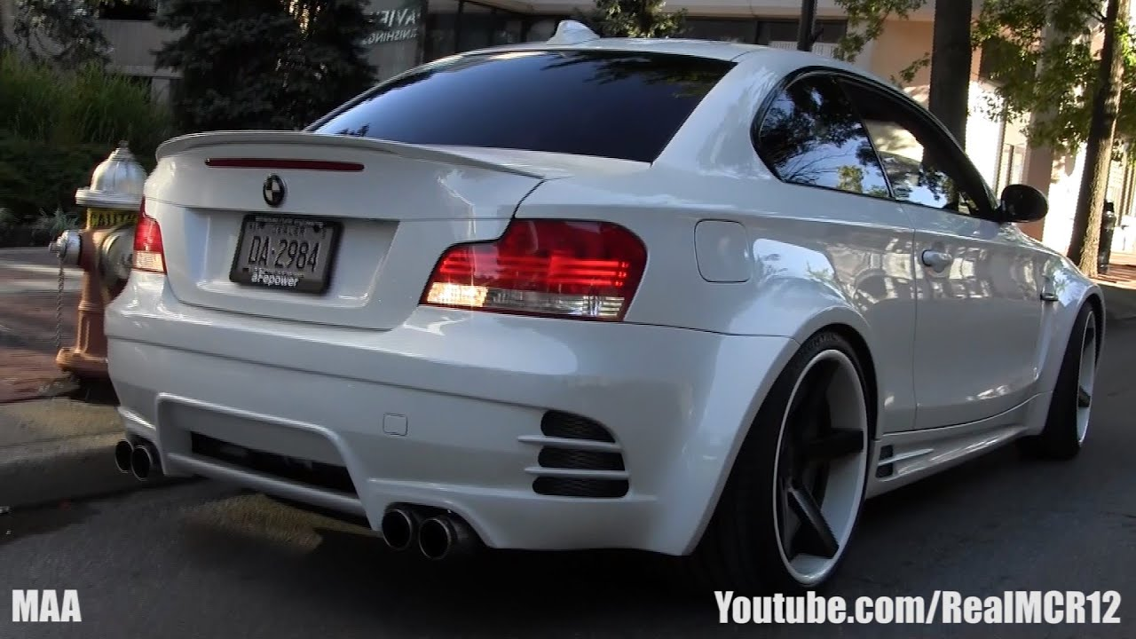 Bagged Widebody Bmw 1 Series Gold Coast Concours Bimmerstock Youtube