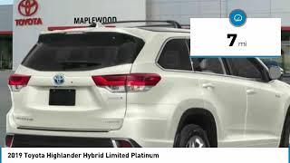 2019 Toyota Highlander Hybrid Limited Platinum Maplewood, St Paul, Minneapolis, Brooklyn Park, MN K1