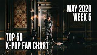 (Top 50) K-Pop Songs Chart - (May 2020) Week 5 Fan Chart