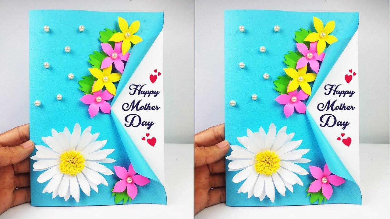 Cara Membuat Kartu Ucapan Untuk Hari Ibu Diy Mother S Day Card Youtube