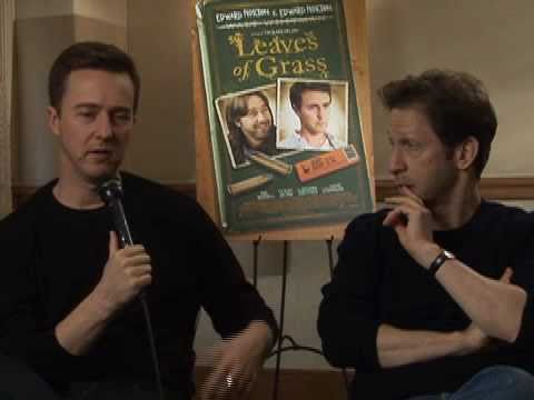 Ken the Critic s Edward Norton and Tim Blake Nelson from Leaves of Grass