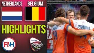 Netherlands v Belgium   2018 Men's Hockey Champions Trophy   HIGHLIGHTS