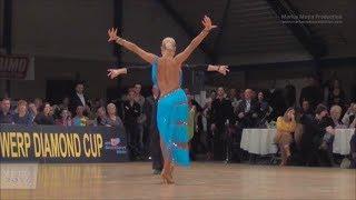 Miha Vodicar & Nadiya Bychkova | Antwerp Diamond Cup 2014 | WO LAT solo Samba
