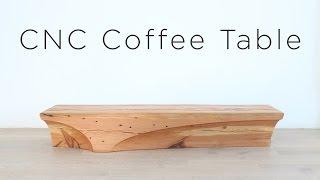 CNC Coffee Table   Digital Fabrication Project