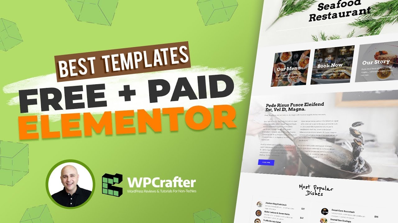best free paid elementor template packs for wordpress something for everyone