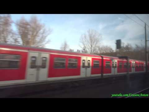 Hamburg Dammtor - Berlin Spandau / Гамбург Даммтор - Берлин Шпандау (ICE Siemens Velaro)