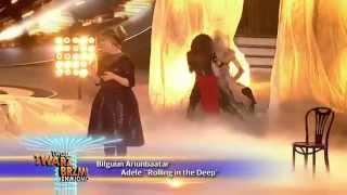 Bilguun Ariunbaatar jako Adele - Twoja Twarz Brzmi Znajomo