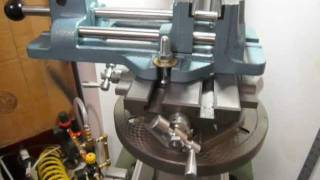 Drill Press + Xy Table + Wilton Cam-lock Vise In Hone Machine Shop