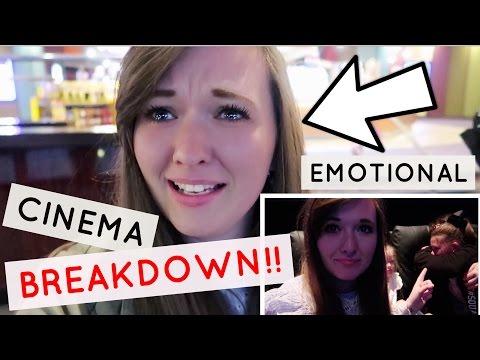 EMOTIONAL CINEMA BREAKDOWN!! + BEAUTY AND THE BEAST 😭😭