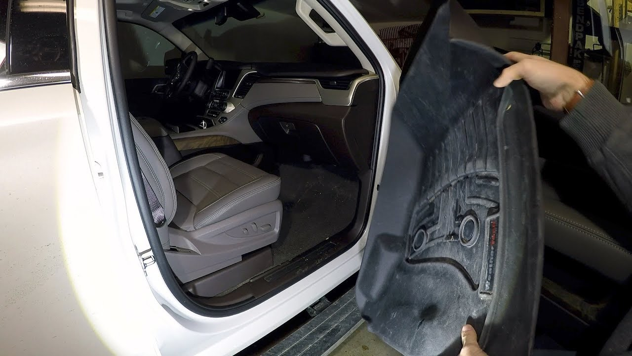 Yukon Denali Xl Weathertech Install Youtube