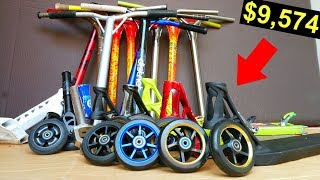 $9,574 SPONSOR PACKAGE NEW SCOOTER PARTS UNBOXING!!!