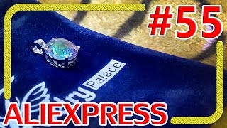 Серебряный кулон радужный топаз - Распаковка Обзор - Алиэкспресс #55