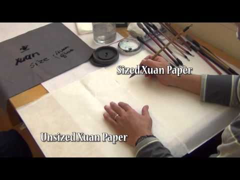 Henry Li: Introducing Basic Chinese Painting Brushes and Rice Paper