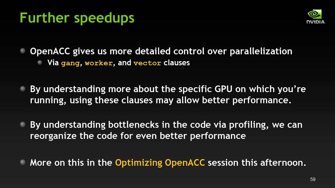 Download Getting Started with OpenACC Larkin Part II