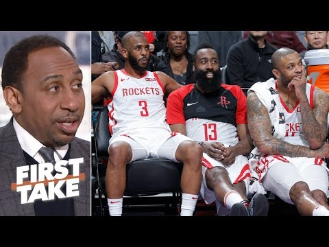 The Rockets are the third best team in the West – Stephen A. | First Take