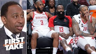 The Rockets are the third best team in the West - Stephen A. | First Take