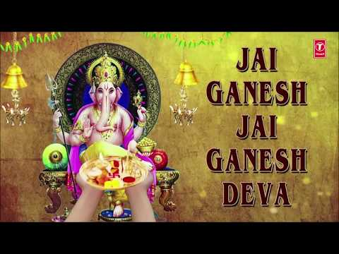 ganesh-aarti,-jai-ganesh-deva-by-anuradha-paudwal-with-hindi,-english-lyricsi-i-full-video-song