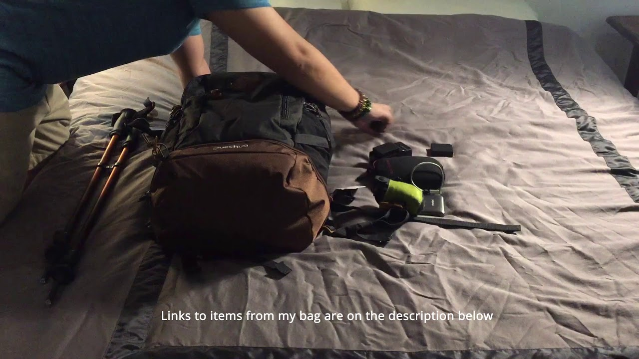 2851bc5840 Quechua Escape 30 Quick Review   Un-packing - YouTube