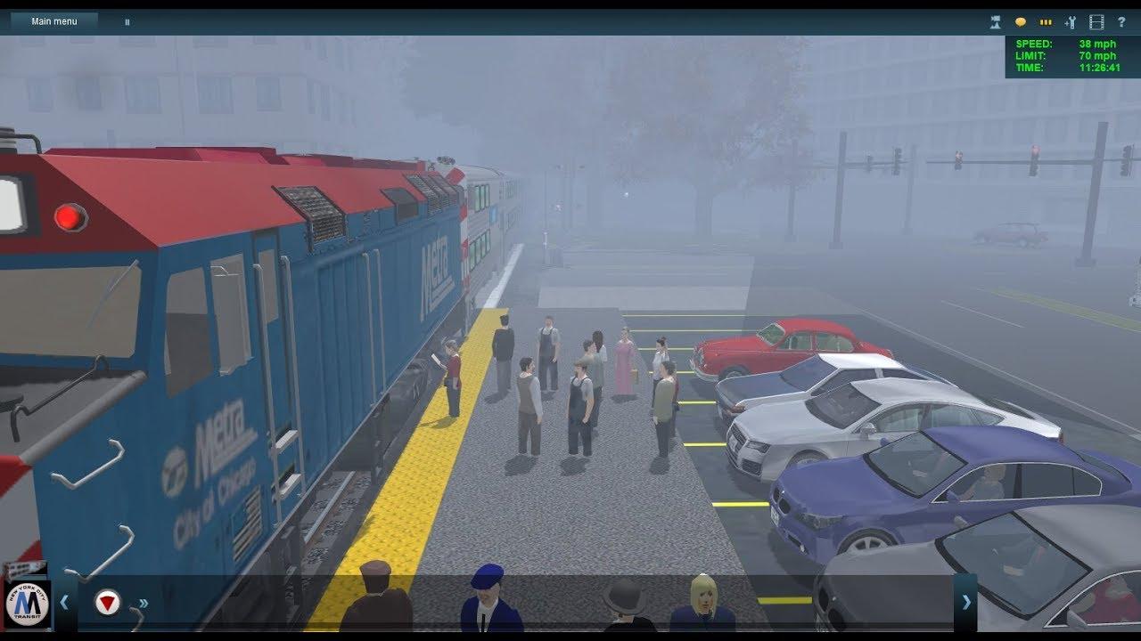 Trainz Railfanning Pt 168: Metra, Amtrak, BNSF, BN, UPRR, SPRR, CNW