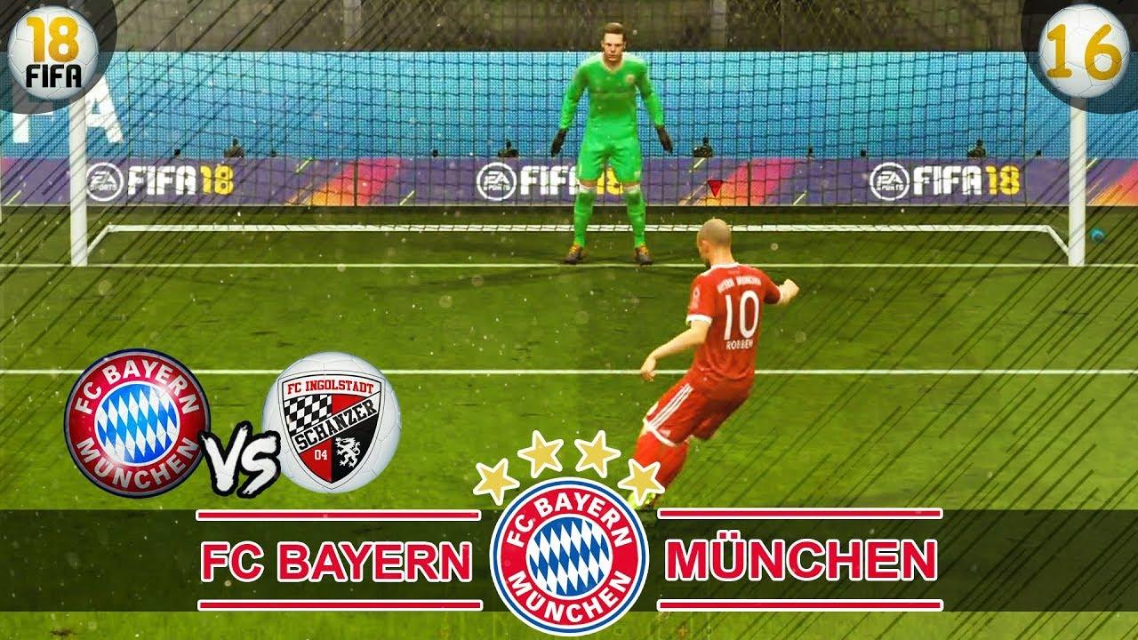 Fc Bayern Vs Ingolstadt