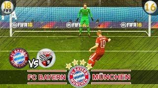 FC Bayern München vs Ingolstadt   Fifa 18 Trainerkarriere #16