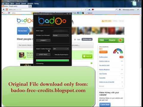 Badoo Credits Generator