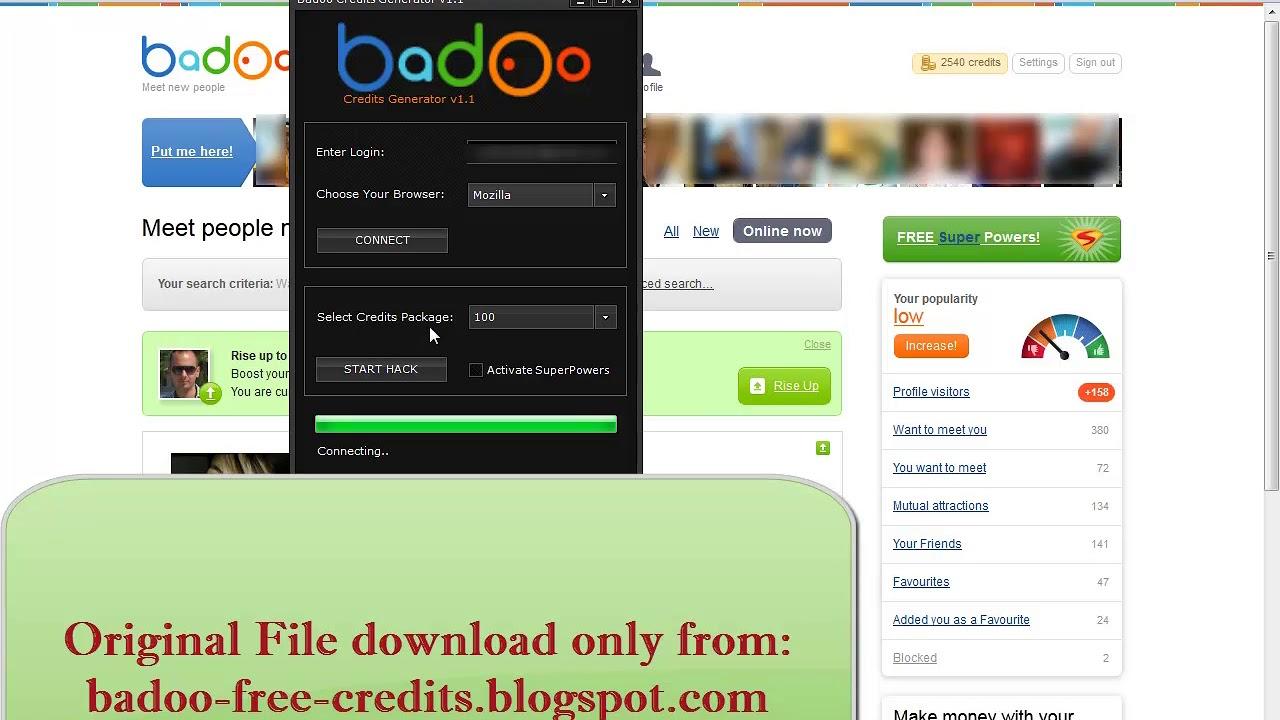 Badoo Credits Generator - YouTube